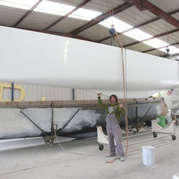 Fabrication d'un Catamaran