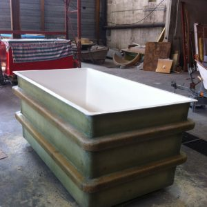 FabrIcation de bassin en matériaux composites