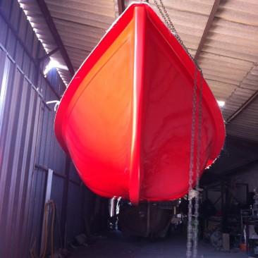 Procédé de Fabrication d'une Barque à rames